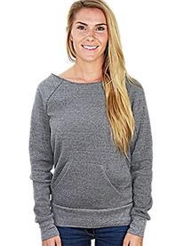 YogaColors Flash Dance Black Heart Eco-Fleece Sweatshirt,