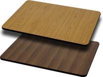 Flash Furniture 30'' x 42'' Rectangular Table Top with