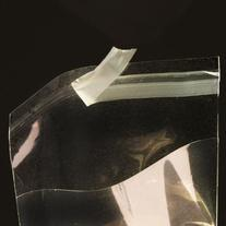 3 5/16in. X 5 1/8in. Flat Cellophane Bags with Adhesive