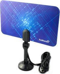 Digital Flat Thin Leaf Tv Antenna HDTV Antenna UHF/VHF FM