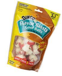 Dingo Bacon Flavor Blasts Goof Balls, Small, 9-Count
