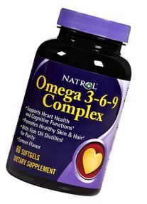 Flax Borage Omega-3 Complex 60 softgels from Natrol