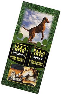 EQyss Flea Bite Pet Shampoo/Spray - Dual Pack