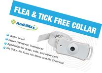 Flea and Tick Collar. Ultrasonic flea and tick control