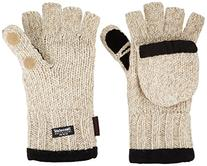 Heat Factory Fleece-Lined Ragg Wool Gloves with Fold-Back