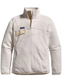 Patagonia Fleece Re-Tool Snap-T Pullover  M/Raw Linen