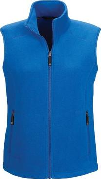 North End Ladies Fleece Vest. 78173 - Large - True Royal
