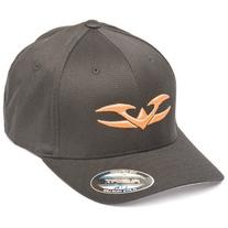 Valken Flex Fit V Logo Hat, Neon Orange, Large/X-Large