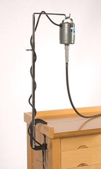 Flex Shaft Motor Hangers, Bench Clamp Model   HOL-620.00