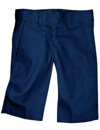 Dickies Little Boys' Flex Waist Flat Front Short, Dark Navy