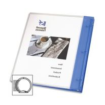 Avery Flexible Binder with 0.5 Inch  Ring, Blue, 1 Binder