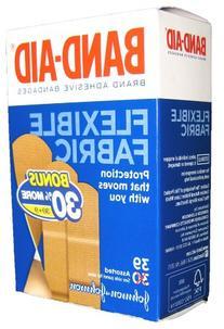 BAND-AID BRAND Flexible Fabric Adhesive Bandages. Protection