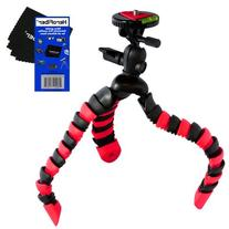 """12"""" Flexible Wrapable Legs Tripod with Quick Release Plate"""