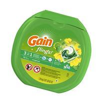 Gain Flings Laundry Detergent Pacs, Original, 72 Count