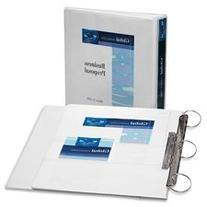 Avery Flip Back 360 Degree Binder with 1 Inch Ring, White, 1