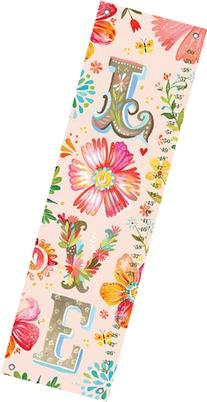 Oopsy Daisy Floral LOVE Stacked by Katie Daisy Growth Charts