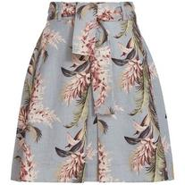 Zimmermann Women's Floral Trapeze Mini Skirt