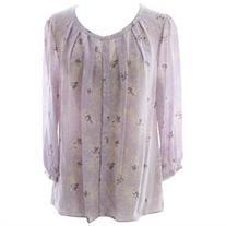 BODEN Women's Florence Top US Sz 14 Lavender