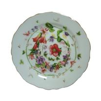 Versace by Rosenthal Flower Fantasy 6-3/4-Inch  Bread and