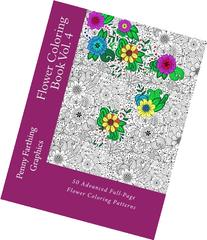 Flower Coloring Book Vol. 4