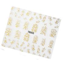 Flower Nail Art Stickers Decals Decorations Hot Stamping