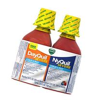 Vicks DayQuil/NyQuil Severe Cough Cold and Flu Relief Liquid