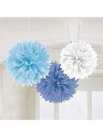 Amscan Fluffy Baby Shower Hanging for Party Decorations, 16