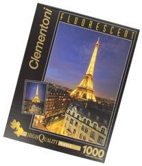 """Clementoni Fluorescent """"Paris"""" Puzzle"""