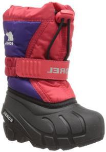 Sorel Flurry TP Winter Boot , Juicy/Cool Grey, 6 M US