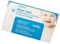 Bumkins Flushable Diaper Liner, Neutral, 100 Count