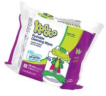 Kandoo Flushable Toddler Wipes - 100 ct - Magic Melon Scent