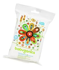 BabyGanics Flushable Wipes Thick N' Kleen - 60 CT