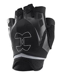 Under Armour Men's Flux Half-Finger Training Gloves, Black/