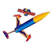 Flis Kits Flying Model Rocket Kit Triskelion