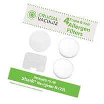 Crucial Vacuum Foam and Felt Replacement Vacuum Filter Kit 4