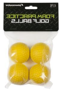 Pinemeadow Sport Foam Practice Golf Balls-Pack of 4