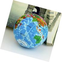 Foam World Map Earth Globe Stress Relief Ball Bouncy Atlas