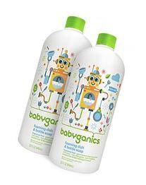 Babyganics Foaming Dish and Bottle Soap Refill, Fragrance