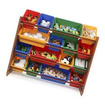 Tot Tutors Focus Super-Sized Toy Storage Organizer with 16