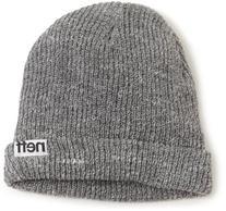 neff Men's Fold Beanie, Grey, One Size