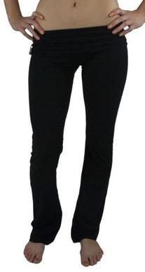 Fold Over Cotton Spandex Lounge Pants