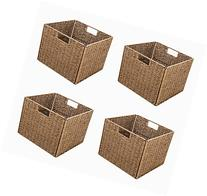 Trademark Innovations Foldable Storage Basket with Iron Wire