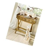 Foldable Wooden Serving Tray / Butlers Tray w/ Stand