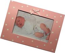 Folded Baby Photo Card Girls Birth Announcement
