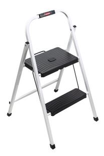 Rubbermaid Folding 2-Step Lightweight Steel Frame Stool with