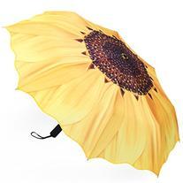 Plemo Folding Umbrella With Anti-Slip Rubberized Grip,
