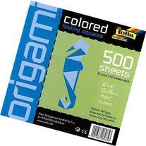 Folia Origami School Pack - 6 Inch Square Sheets - 500