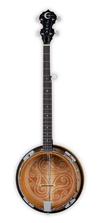 Luna Folk Series Celtic Five-String Banjo