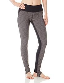 Gaiam Women's Follow My Line Legging, Anthracite Heather/