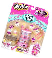 Shopkins Food Themed Pack Cupcake Collection